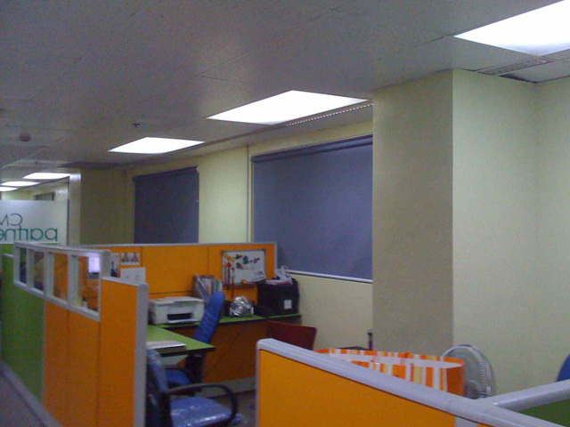 Roller Blinds in Salcedo Street Legaspi Village Makati City