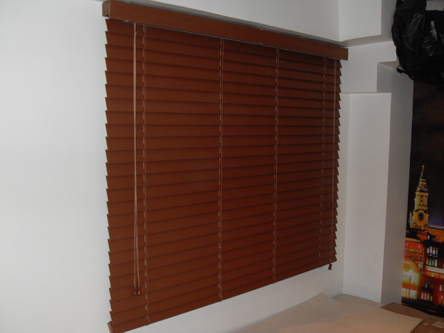 Installed Durawood Blinds at Quezon City Philippines