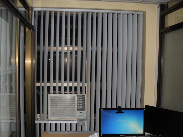 Installed PVC Vertical Blinds at Arnaiz Ave.Makati-City