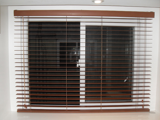Quezon City Philippines Installation of Fauxwood Blinds