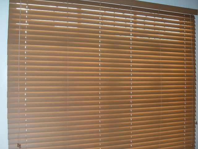 Installed faux wood blinds at Narbacan, Ilocos Sur