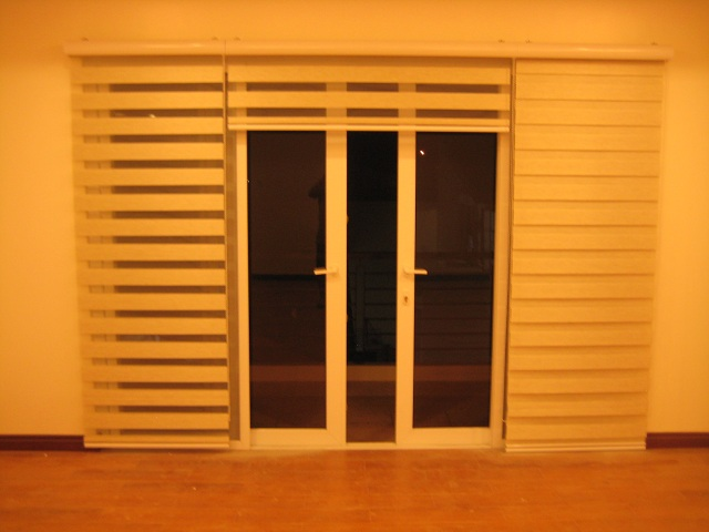 Completely Open Combi Blinds