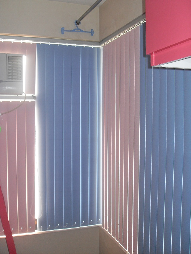 PVC Vertical Blinds at Oriental Place, Makati City
