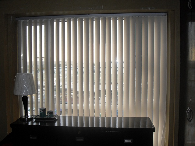 PVC Vertical Blinds Installation at Pasong Tamo, Makati City