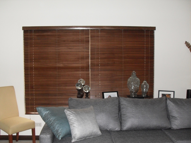 Wood Blinds at White Plains Quezon City