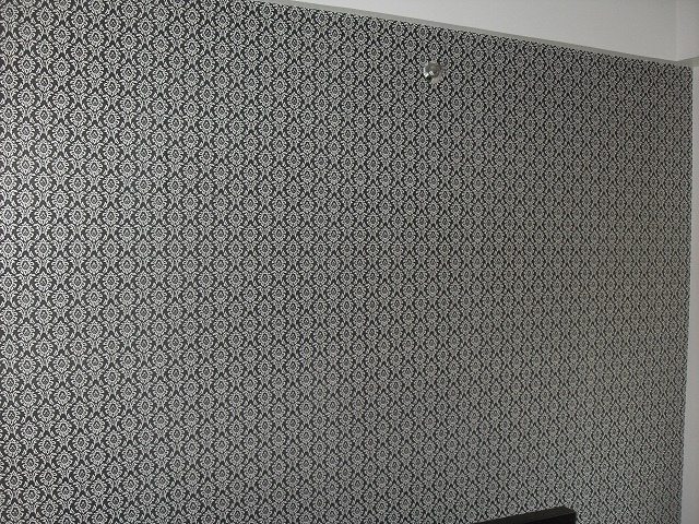 wallpaper blinds on Blinds Wallpaper2 Faux Wood Blinds And Wallpaper A Perfect Combination