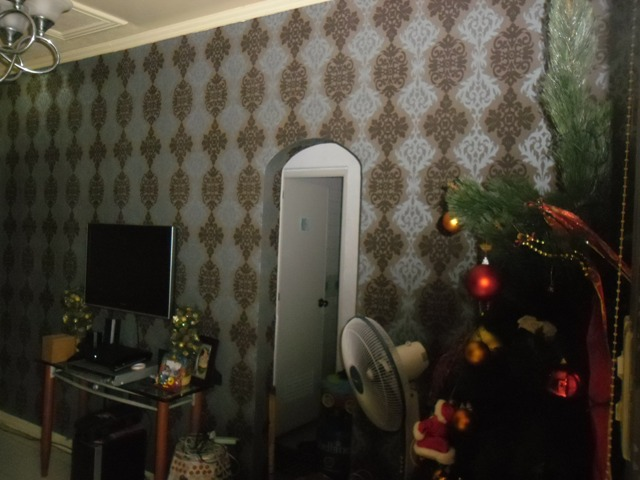Vinyl Wallpaper Installed at Galleria Town Homes, New Manila