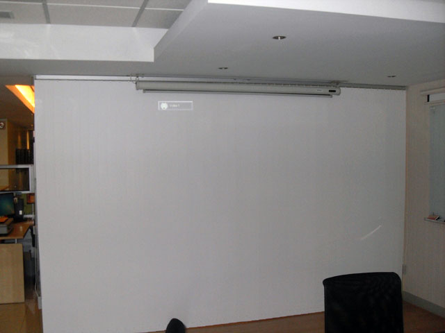 Vertical Blinds for Office Meetings and Privacy