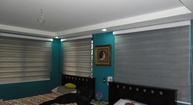 Combi Blinds Installed at Pasig City