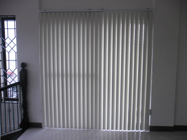 PVC Vertical Blinds Good-Looking Hanging Slats