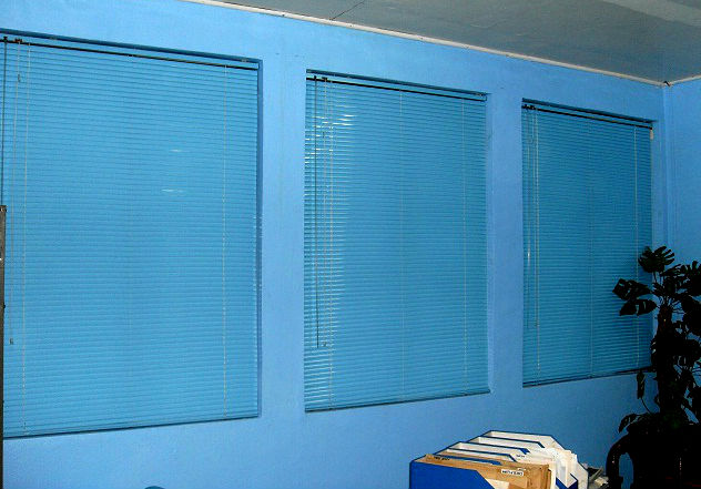 Mini Blinds Installation at Bicutan, Taguig City, Philippines