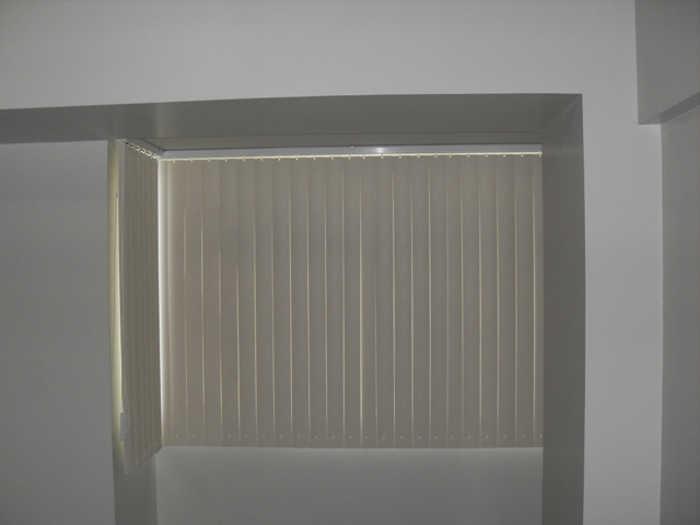 PVC Vertical Blinds Installed at Makati City, Philippines