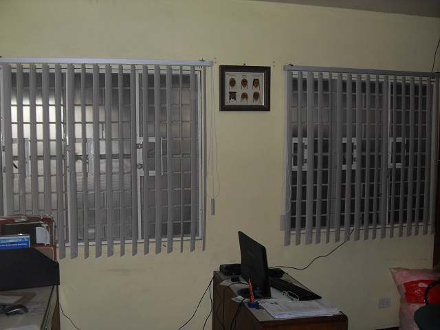 PVC Vertical Blinds Installed at Makati City , Philippines