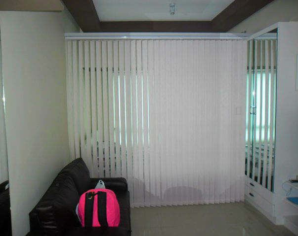 Fabric Vertical Blinds: V7593 Pink