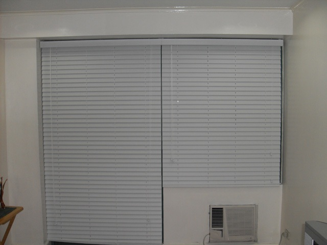 Faux Wood Blinds Installation in San Juan, Metro Manila, Philippines