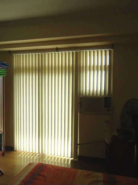 PVC Vertical Blinds for Sliding Patio Door