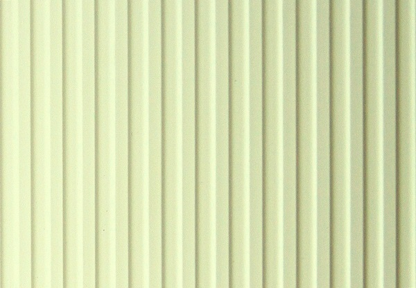 PVC Vertical Blinds: Corr Curve Cream