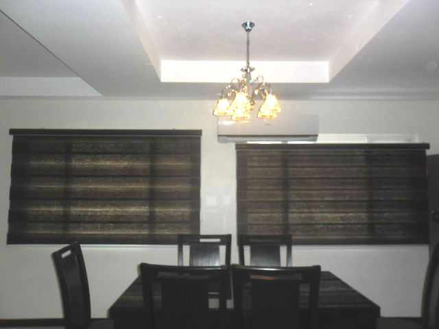 Combi Blinds: G405 Choco
