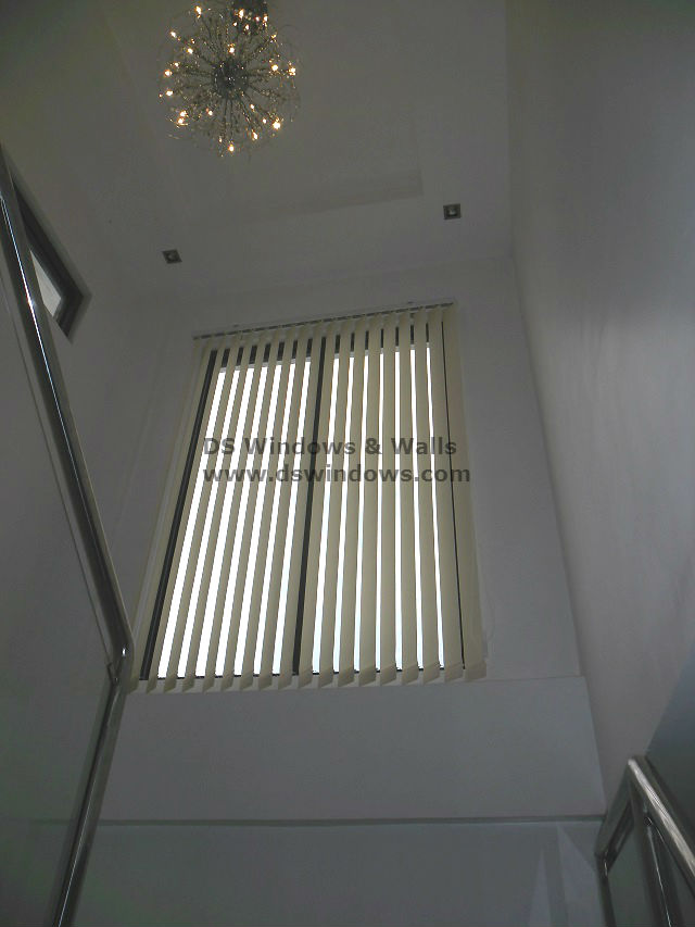Fabric Vertical Blinds: V6412 Beige