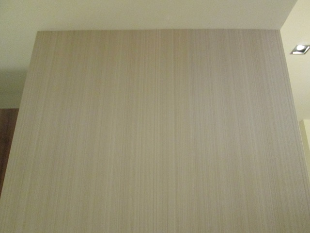 Installed Plain Wallpaper in Lucena City