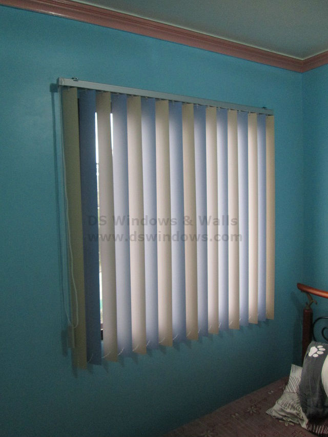 Unique Multi-colored PVC Vertical Blinds