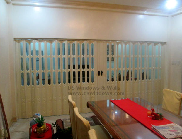 Installed Folding Door in Rizal, Manila