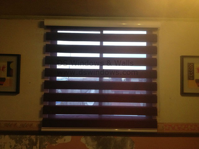Installed Combination Blinds at Manila City