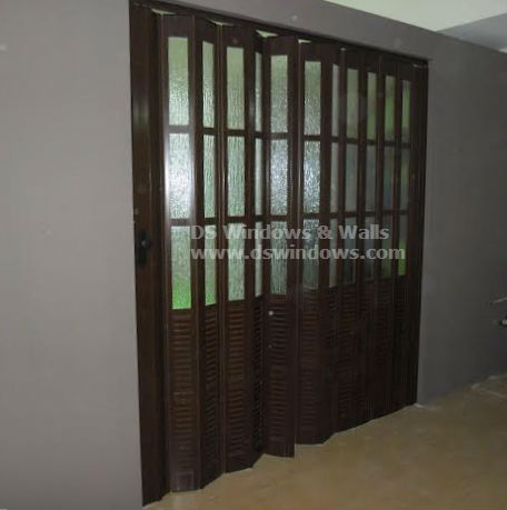 French Type Accordion Door for your Family Room
