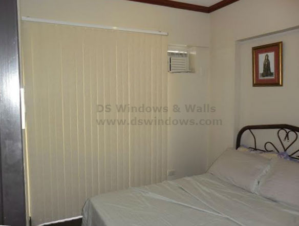 Installed PVC Vertical Blinds in Pasig City, Philippines