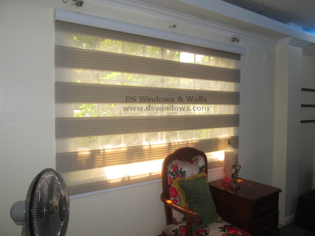 Combi Blinds Installed in White Plains, Quezon City, Philippines