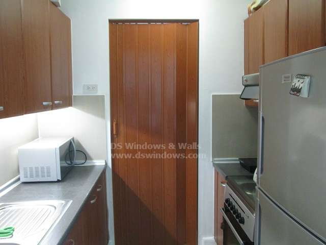 Wood-like PVC Folding Door