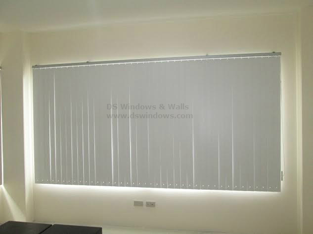 Pretty and Affordable PVC Vertical Blinds
