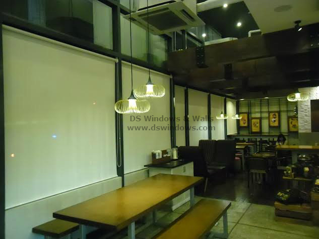 Roller Blinds for Coffee Restaurant Shop