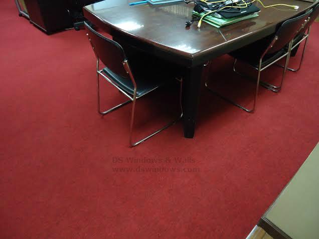 Red Color Carpet Tile Flooring For Office: Cubao, Quezon City, Philippines