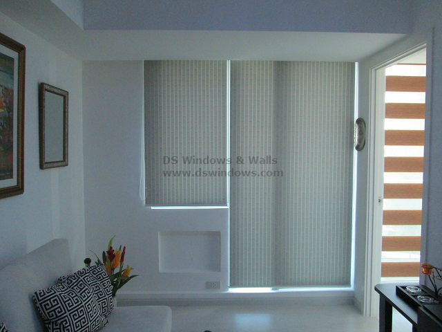 Roller blinds for cozy and modern living room in ayala makati city philippines Robinson s home furniture philippines