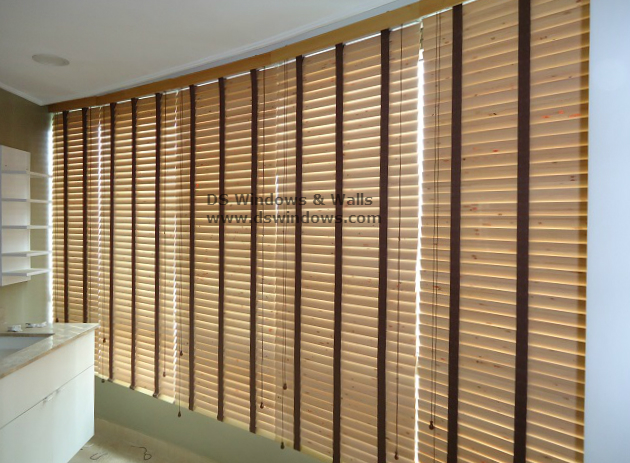 Real Wood Blinds Installed in Gramercy Residences, Makati City