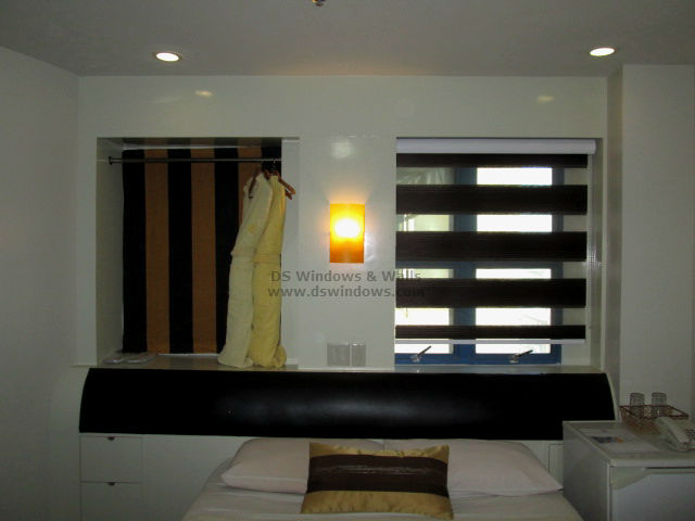 Combination Blinds For Hotel Rooms