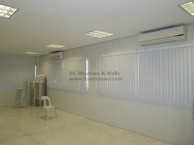 PVC Vertical Blinds for School Windows