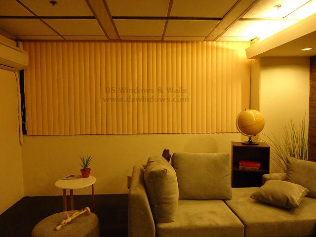 PVC Vertical For Warmer Look of Living Room - Quezon City