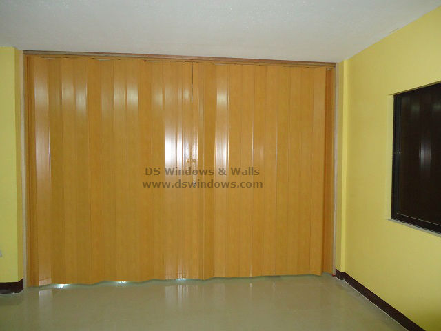 Split-type Accordion Door installed in Mandaluyong City Projects