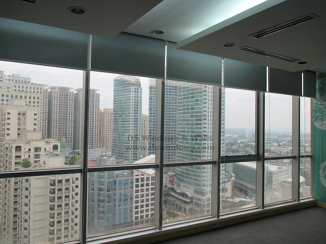 Blackout Roll Up Blinds Installed in Ortigas Avenue, Pasig City