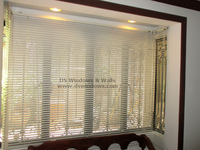 Aluminum Venetian Blinds Installed in Sto Tomas Batangas, Philippines