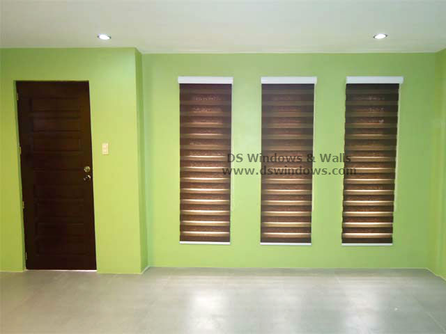 Dual Shade Blinds installed in Angono Rizal, Philippines