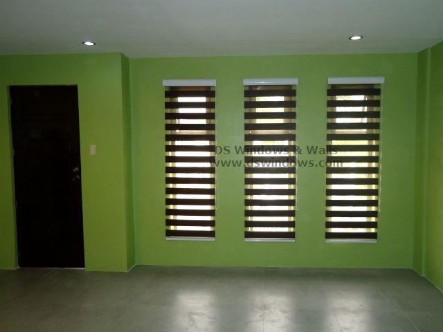 Dual Shade Blinds for Vertical Windows - Angono Rizal, Philippines