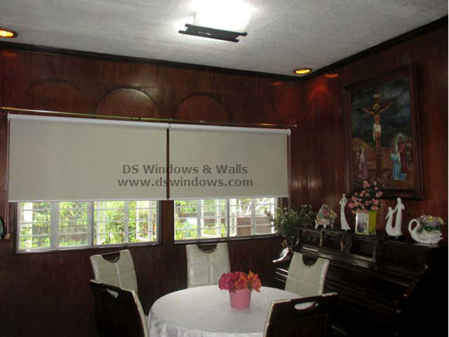 Roller Blinds installed at Merville, Parañaque City Philippines