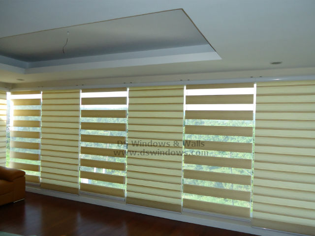 Duo Shade Blinds installed at Candelaria Quezon Philippines