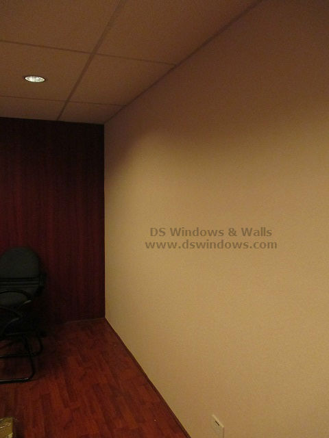 Plain Design Wallpaper Installed at Rockwell Business Center, Metro Manila