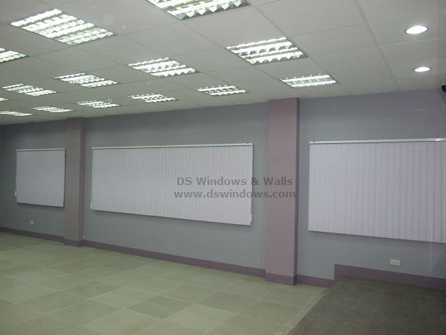 Vertical Blinds for New Office Makeover at BGC Taguig Philippines