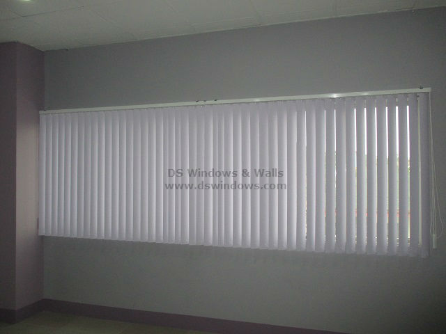 PVC Vertical Blinds for Function Hall - Bonifacio Global City, Taguig Philippines