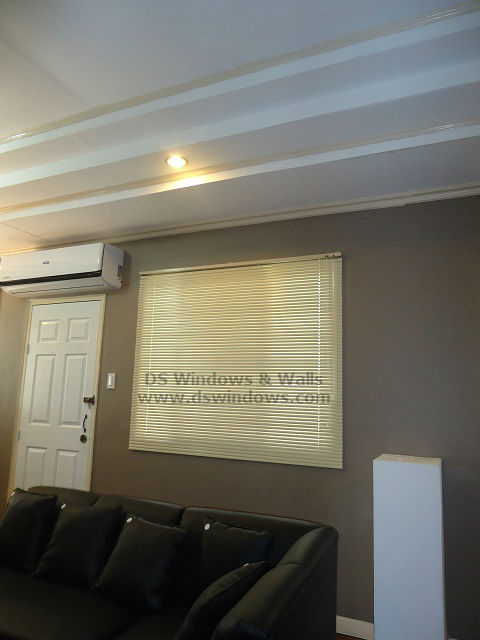 Aluminum Venetian Blinds installed at Makati City, Philippines